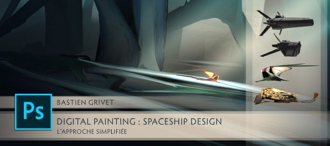 Tuto Spaceship Design : L'approche simplifiée Photoshop