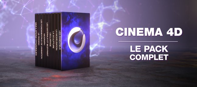 Méga Pack Cinema 4D