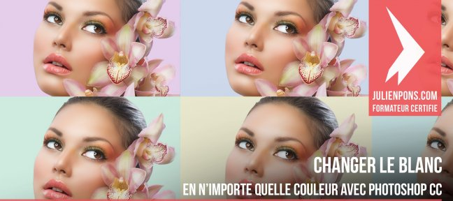 Tuto Changer le blanc en n'importe quelle couleur Photoshop