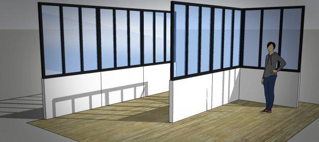 Tuto Gratuit Sketchup Réalisez Une Fenêtre Datelier Avec Sketchup