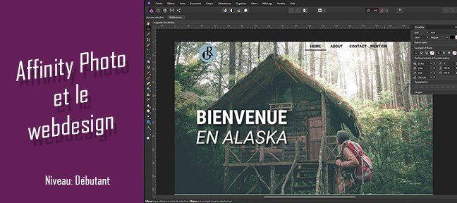 Tuto Utiliser Affinity Photo pour le Webdesign Affinity Photo