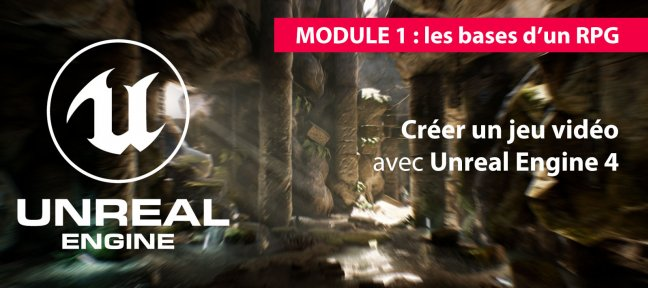 Tuto Création d'un RPG avec Unreal Engine - Formation Year One Unreal Engine