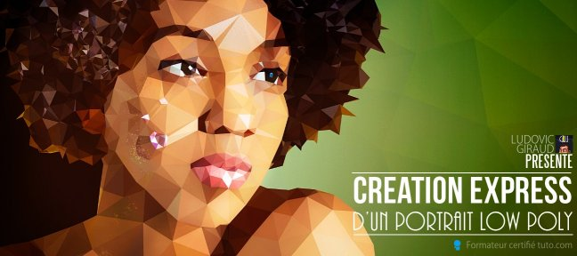 Création express d'un portrait style Low Poly sous Affinity Photo