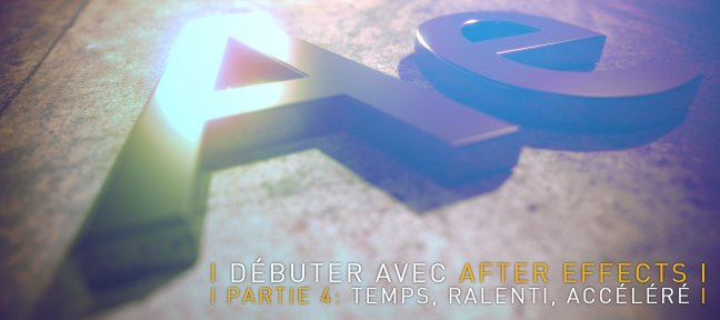 Tuto Débuter avec After Effects CC 2018, partie 4 After Effects