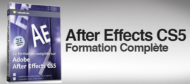 After Effects CS5 : La formation complète