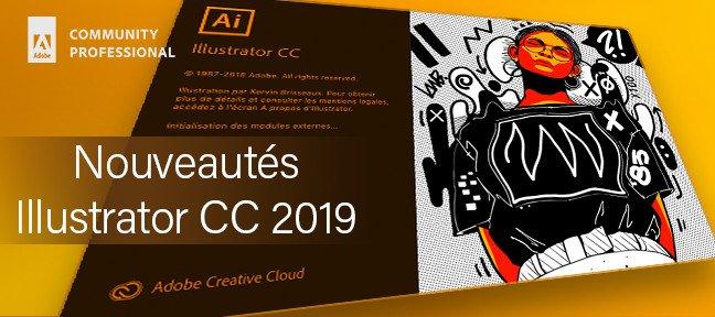 TUTO Gratuit : Nouveautés Illustrator CC 2019 avec Illustrator CC sur  Tuto com