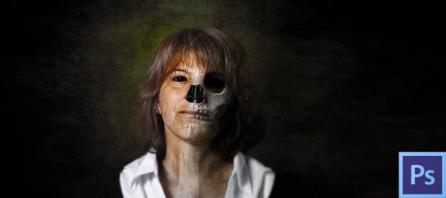 Tuto Gratuit : Halloween photo composition Photoshop