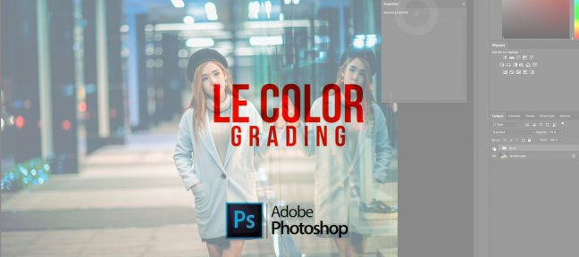Le Color Grading sous Photoshop