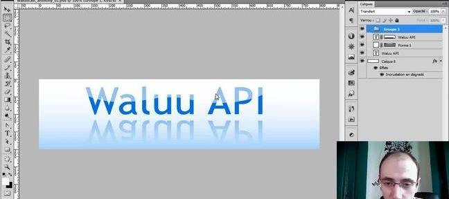 creation d'un logo photoshop