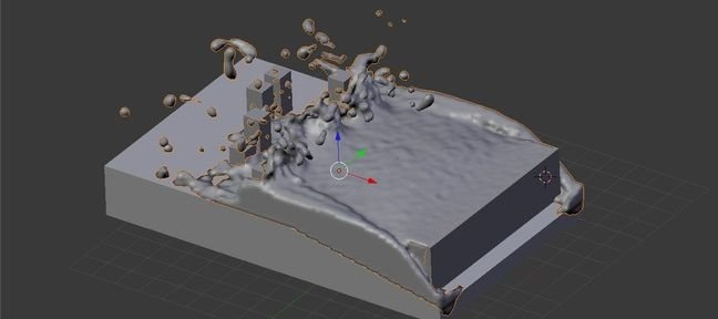 Tuto Simuler une vague Blender