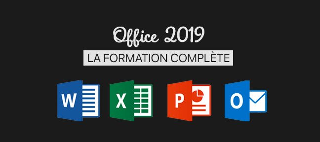 Bundle : Formation Office 2019