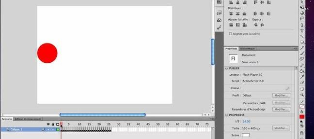 Tuto Animation image par image Flash