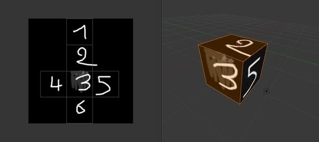Tuto UV MAP d'un cube Blender