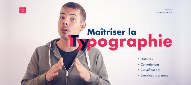 Maîtriser la typographie, comprendre ses codes, ses principes et son histoire