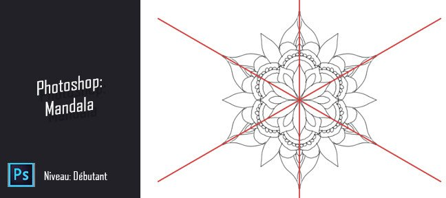 Tuto Astuce Photoshop gratuite - Dessiner un mandala Photoshop