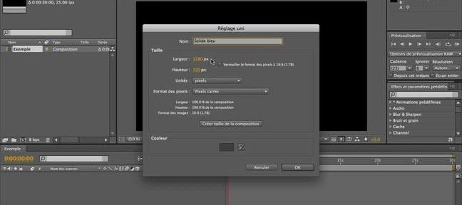 Tuto Les solides After Effects