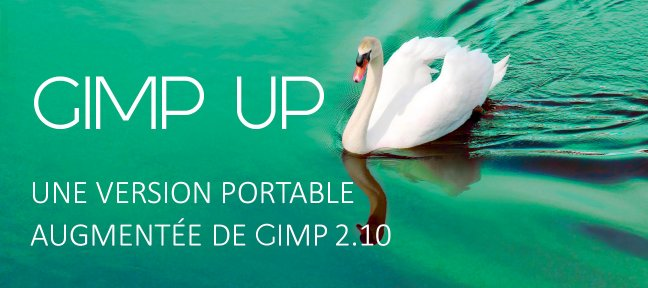 Gratuit GIMP UP : Une version portable augmentée de GIMP