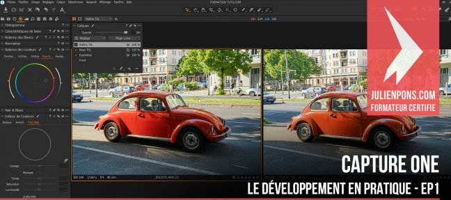 Tuto Gratuit Capture One - Le développement en pratique - EP1 Capture One Pro