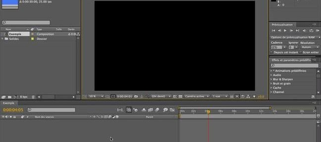Tuto Calques de forme After Effects