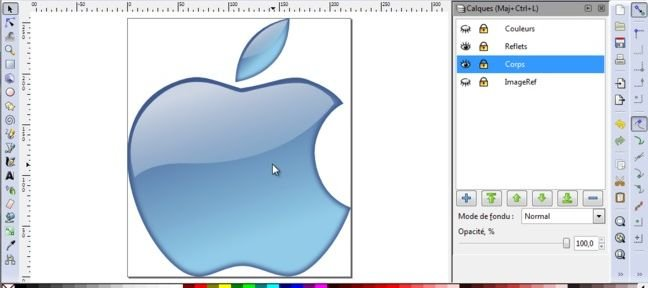 Logo Apple Aqua