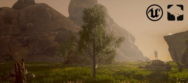 Tuto Gratuit : Végétation GAME READY Speedtree / Unreal Engine 4 SpeedTree