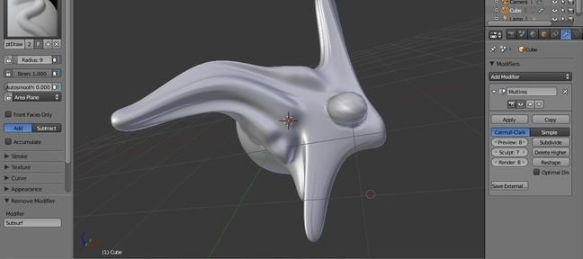 Blender Sculpt mode
