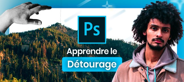 Tuto Apprendre le détourage Photoshop - Simple et Complexe Photoshop