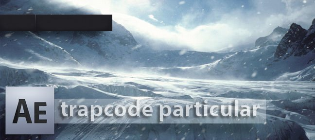 Tuto De la neige avec Trapcode Particular After Effects