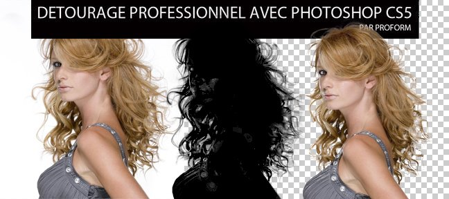 Photoshop : Détourer une photo complexe