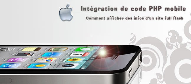 Intégration PHP mobile