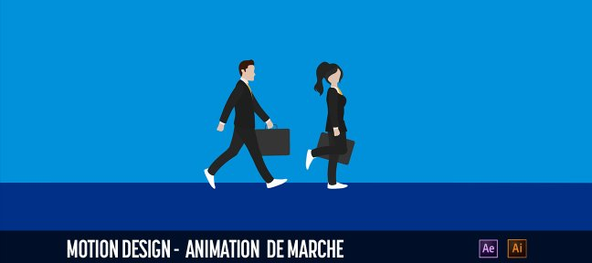 Animation de marche