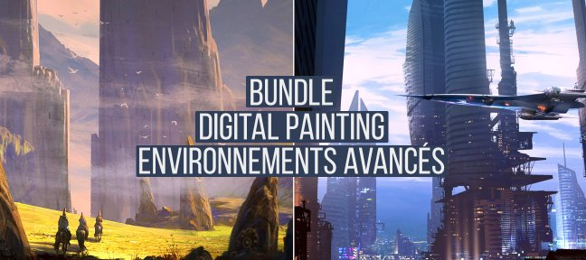 Tuto Bundle : Digital Painting Environnements Avancés Photoshop