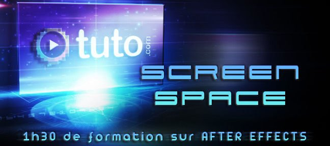 Tuto Apparition d'écran stylée After Effects