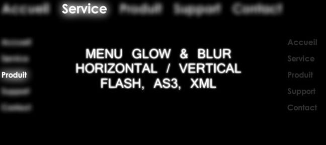 Menu Flash XML