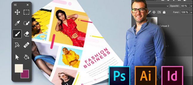 Tuto MasterClass pour les Débutants : Photoshop, Illustrator, Indesign Photoshop