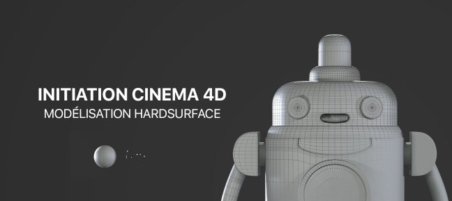 Tuto Modeliser le robot H.U.E. de Final Space sur Cinema4D Cinema 4D