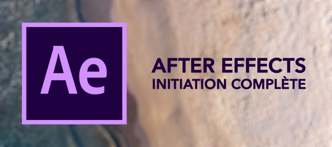 Tuto After Effects : Initiation Complète After Effects