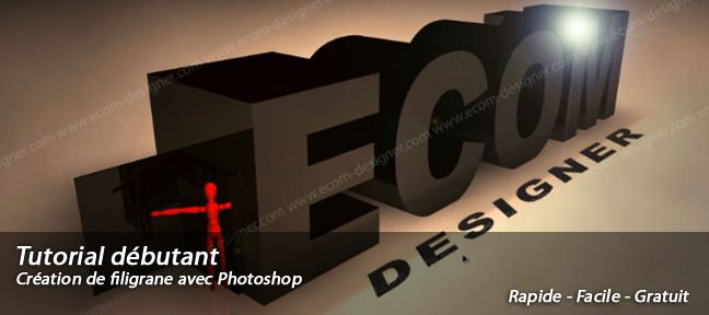 Tuto Filigrane Photoshop Photoshop