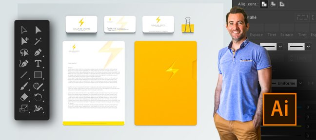 Illustrator - Pack Essentiel Business - Vos supports de com'