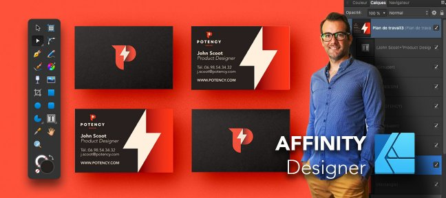 Tuto AFFINITY Designer | Initiation - Outils + Ateliers Créatifs Affinity Designer
