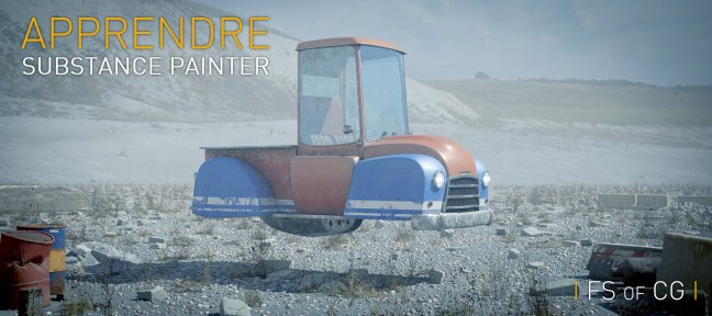 Apprendre Substance Painter