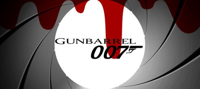 Gunbarrel intro James Bond 007