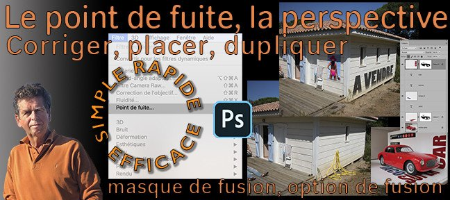 Tuto Photoshop : La perspective et le point de fuite Photoshop