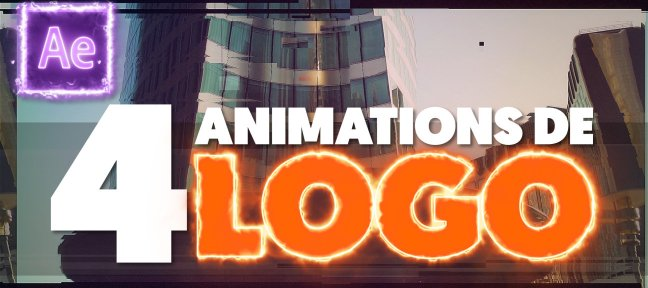 Tuto Gratuit : 4 Animations de Logo Professionnelles sur After Effects After Effects