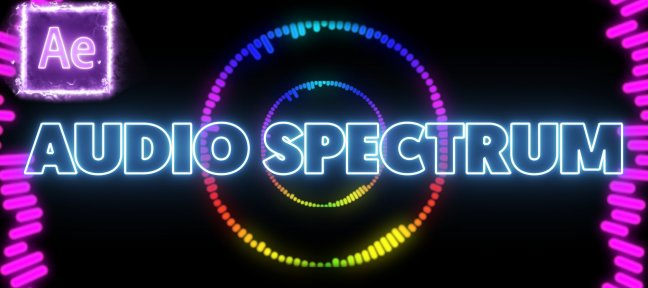 Tuto Gratuit : Créer un Audio Spectrum sur After Effects After Effects