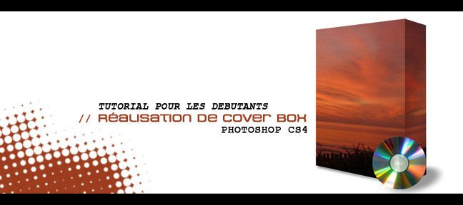 Cover box avec Photoshop cs4