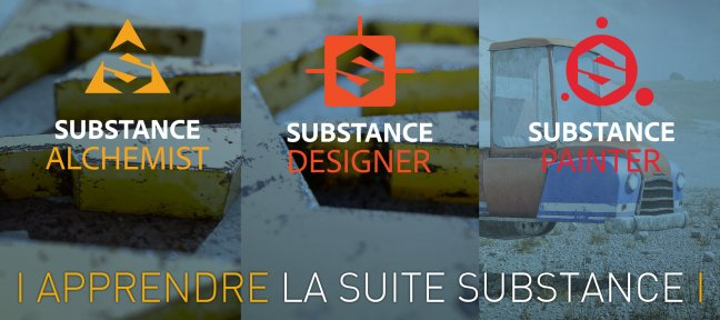 Tuto Bundle : Apprendre la Suite Substance Substance Designer