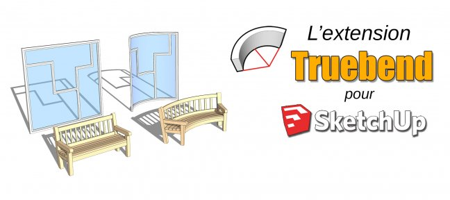 Tuto L'extension Truebend pour SketchUp Sketchup