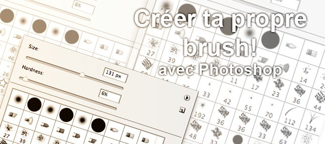 Tuto Créer sa propre brush. Photoshop