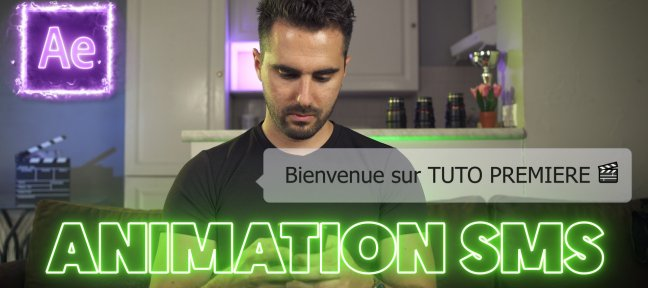 Tuto Gratuit : Créer une Animation SMS sur After Effects After Effects